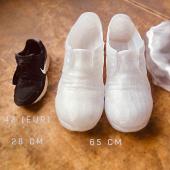 Guliver shoes for the Museum. Printed with filamentarno SBS-pro plastic. Size 650mm)) #filamentarno #filamentarno_eu #artdoselab #3dprinting