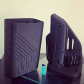 Repost @box3d.ru 3D Printing is the best way to get the desired result quickly and accurately.  Another example of this in the photo, the case of a radio device for capturing drones  One of the two most popular types of filaments. Titan GF-12 from @filamentarno  1-it is based on # ABS and means that it can be processed well  2-the Plastic is filled with fiberglass and this gives it additional strength characteristics and completely removes shrinkage.  These two parameters make the material relatively easy to print, and the result is so good that in some cases it can be used without post-processing.  Also, the absence of shrinkage is a guarantee that the device will be assembled after printing without modifying the faces and connecting seams. At the output, you get a detail that exactly matches your 3D model. #3dmodelling #3dprint #filamentarno_eu